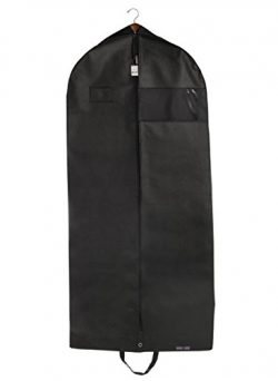 "Bag For Less PREMUIM QUALITY Black Garment Travel And Storage Breathable Bag 26"" x 60 x 5"" With  ..."
