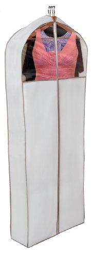 PRO-MART DAZZ Gusseted Gown Garment Bag, Beige