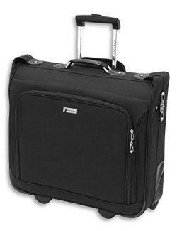 London Fog Buckingham 44″ Wheeled Garment Bag, Black