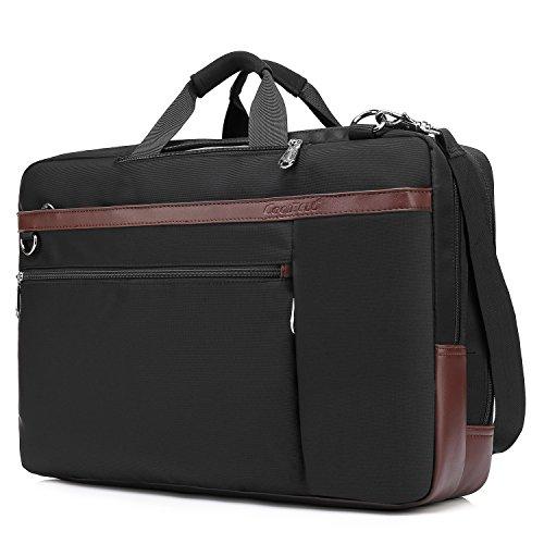 9a83ed87a51c CoolBELL Convertible Backpack Shoulder bag Messenger Bag Laptop Case  Business Briefcase Leisure .