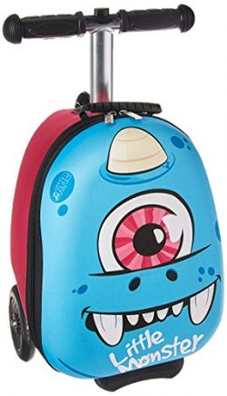 Zinc Flyte Kids Luggage Scooter 15″ – Sid the Cyclops Blue