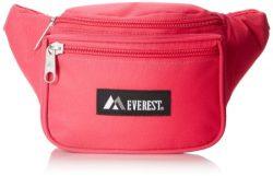 Everest Signature Waist Pack – Standard, Hot Pink, One Size