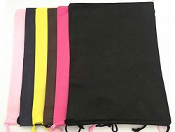 Travel Shoes Bags Non-Woven Big Bag 12*15″ Set of 6 (Mix)