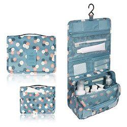 Portable Travel Makeup Cosmetic Bag – Mr.Pro Waterproof Haning Travel Kit Toiletry Bag Bat ...