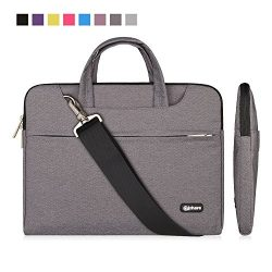 Qishare 10 11″ 11.6″ Gray Multi-functional Portable Carrying Bag / Shoulder Bag / me ...