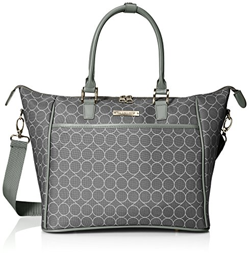 Ninewest Women S Allea Bag Travel Tote Black Silver One Size Luggagebee Luggagebee