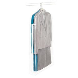 Richards Homewares – Clear Vinyl Storage Maxi Rack Suit Garment Cover