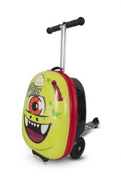 Zinc Flyte Kids Luggage Scooter 18″ – Sid the Cyclops aka  18″ Midi Cyclops- Green