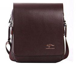 EconoLed Men's Genuine Leather/PU Authentic kangaroo kingdom Shoulder Bag Messenger Bags …