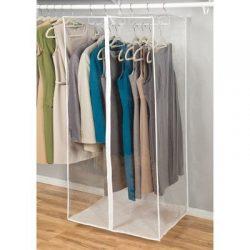 Jumbo Garment Closet 24″ x 20″ x 54″ (Clear) (54″H x 24″W x 20R ...