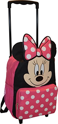 Disney Minnie Mouse 14″ Softside Rolling Backpack