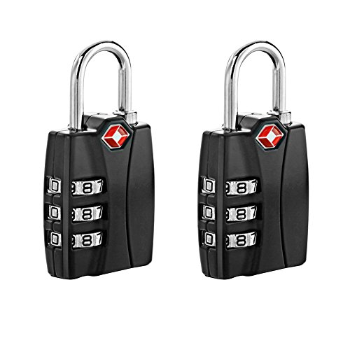 Newtion TSA Approved Luggage Locks With Open Alert Travel