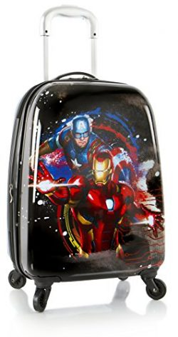 Marvel Avengers Boy's 20″ Hardside Spinner Carry On Expandable Luggage