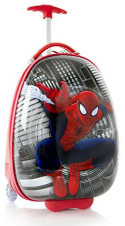 Marvel Spiderman Boy's 18″ Rolling Carry On Luggage