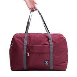 Cocoo Travel Foldable Waterproof Tote Bag Carry Storage Luggage Handbag Wine