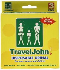 Travel John – Portable Bathroom (3 pack)