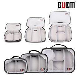 BUBM Multi-Functional 3pcs/set (S/M/L in One) Waterproof Travel Cord Electroic Organizer Case Co ...