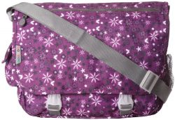 J World New York Terry Messenger Bag, Garden Purple, One Size