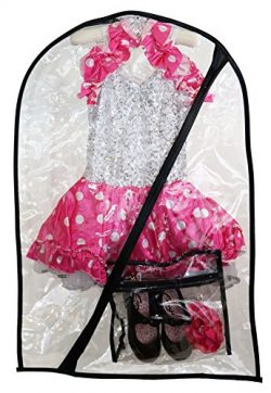 The Original Dance Costume Bag by Boottique- Children's Garment & Costume Bag (Include ...
