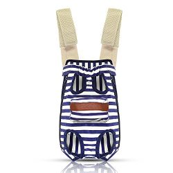 COODIA Legs Out Front Pet Dog Carrier Front Chest Backpack Pet Cat Puppy Tote Holder Bag Sling O ...