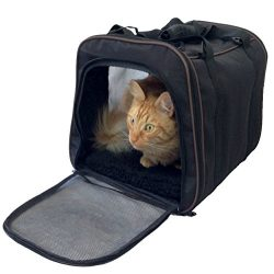 Pawfect Pet-Pet Carrier,Large Soft Sided Airline Approved For Travel,For Cat And Dog,Top Loading ...