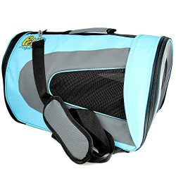 Soft-Sided Pet Travel Carrier (Airline Approved) for Cats, Small Dogs, Puppies and Other Pets by ...