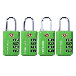 TSA Compatible Travel Luggage Locks, Open Alert Indicator, Easy Read Dials?