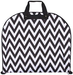 Ever Moda Chevron Hanging Garment Bag