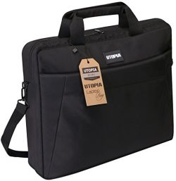Laptop Bag, 15.6 inch Travel Laptop Bag, Business Travel Briefcase, Multi-Functional Compartment ...