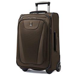 Travelpro Maxlite 4 Expandable Rollaboard 22 Inch Suitcase (Mocha)