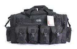 30″ NexPak Tactical Duffel Range Gear Bag TF130 BK Black