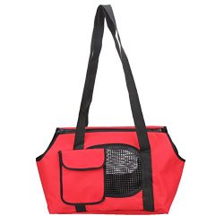 Diamondo Spring Summer Breathable Pet Carriers For Small Dogs Pet Bag Dog Cats Bag (B, L: approx ...