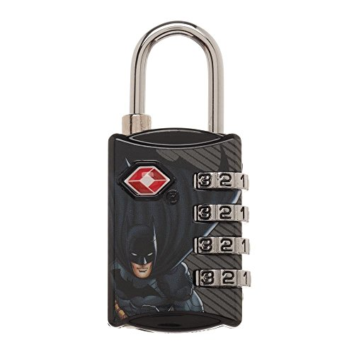 DC Comics Batman Graphic Design TSA Approved Travel Combination Luggage  Lock for Suitcase Baggage cf3f1488ad463