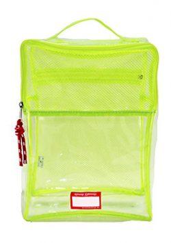 Rough Enough TSA Clear Transparent Shoe Tool Comestic Beach Bag