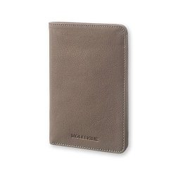 Moleskine Lineage Leather Passport Wallet Taupe