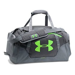 Under Armour Undeniable 3.0 Small Duffle Bag, Rhino Gray/Steel, One Size