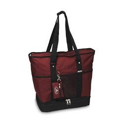 Everest Luggage Deluxe Shopping Tote,