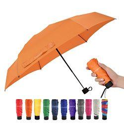 Travel Compact Umbrella Mini Sun Umbrella Ultra Light Parasol – Fits Men & Women (Ver  ...