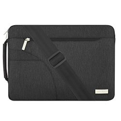 Mosiso Polyester Fabric Sleeve Case Cover Laptop Shoulder Briefcase Bag for 13-13.3 Inch MacBook ...