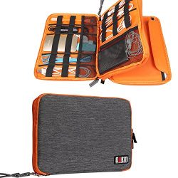 Travel Organizer, BUBM Universal Double Layer Travel Gear Organizer Storage Bag / Electronics Ac ...