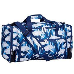 Wildkin Sharks Weekender Duffel Bag