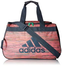 adidas Women's Diablo small duffel Bag, Green, One Size