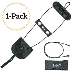 Luggage Bungee for Travel – Securely Straps Carry On Bag to Suitcase with Adjustable Belt  ...