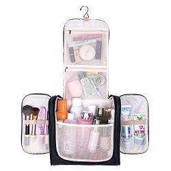 Large Hanging Travel Toiletry Bag – MelodySusie Heavy Duty Waterproof Makeup Organizer Bag ...