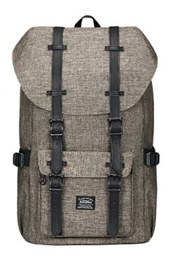 Kaukko Laptop Outdoor Backpack, Travel Hiking& Camping Rucksack Pack, Casual Large College S ...