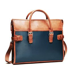 Handbag Luggage Laptop Bag – Briefcase Fits 13 to 14 Inch Notebook (Blue)