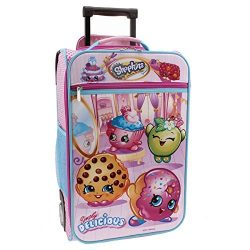 Shopkins Rolling Pilot Case Luggage 18.7″
