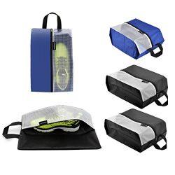 Lermende Travel Shoe Bags Waterproof Nylon Organizer Storage Tote Bag 5pcs