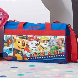 Personalized Licensed Kids Travel Duffel Bag – 18″ (Boys – Paw Patrol)
