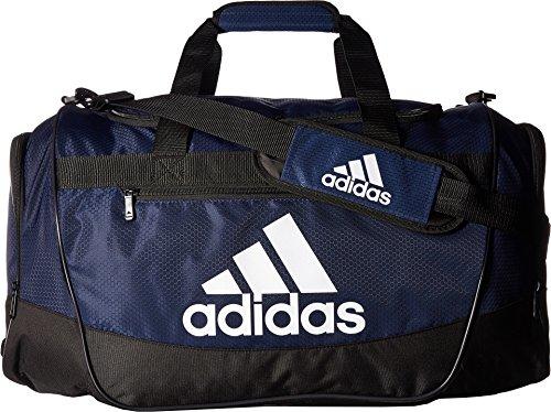 f57055220 adidas Defender III medium duffel Bag, Collegiate Blue/Black/White, One Size